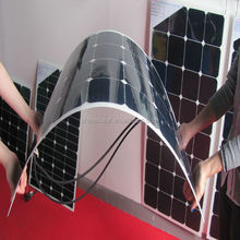 12V flexible solar panel for car, boat , semi-flexible module