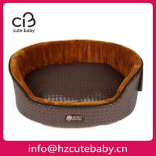 golden luxury pet bed for summer can keep dog cool
