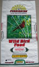 pp animal feed bag / 25kgpolypropylene woven bag for dog food cat feed bird feed pet feed 25KG 50KG / offset printing feed sack