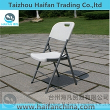High quality HDPE blow molding plastic folding chair price/table chair for restaurant/hot sell folding camping chair