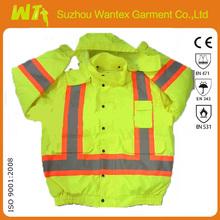 Latest Fashion reflective hi-vis security windcheater jacket