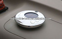 2013 Hot selling Solar Car Air Purifier Ionizer and Ozonizer Generator Car Interior Air Purification