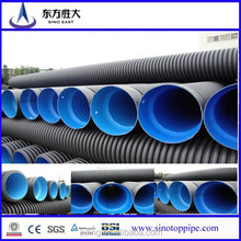 HDPE large diameter steel reinforced polyethylene spiral corrugated pipe with competitive price