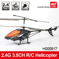 Golden 2.4G 3.5CH stable rc helicopter with spare parts inside