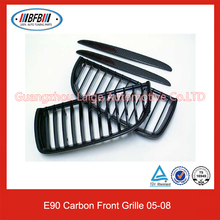 3 Series E90 Replacement Carbon Fiber Front Grille For BMW E90 05-08