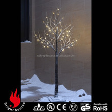 snowing artificial christmas tree parts