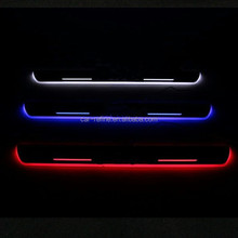For Mercedes W212 LED light scuff sill plate lights LED Door sills lights B enz W212 auto accessories
