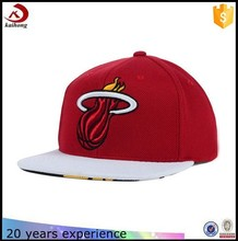 OEM/ODM flat brim customize snapback caps and hats bulk