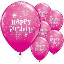 EN71 standard party balloons latex