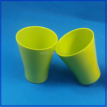 Wide Mouth Custom Printed Plastic Cup Lovely For Fun Green Color