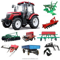 Best quality low price 25 ~ 90HP 4WD multi purpose farm tractor