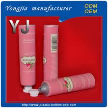 Hand cream container cosmetics paking aluminum laminated tube