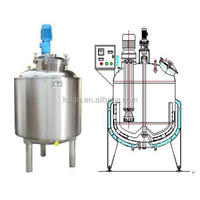 Homogeneous emulsifying Vat / Stainless Steel Cheese Vat with high speed agitator