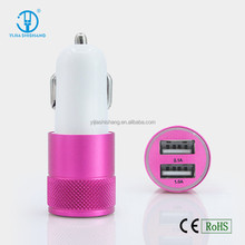 Mobile Accessories Cell Phone Car Charger Dual Ports 3.1A Micro USB Car Charger