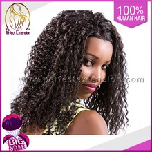 Lace Front Wigs,Indian Women Hair Wig,High Ponytail Afro Kinky Human Hair Wig