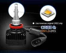 New Arrival H11 Car LED headlight Conversion Kit for SUBARU Forester 2013