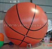 Sports Helium Balloon, Inflatable Basketball Giant Balloon H4032