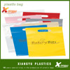 Die cut plastic bag customized logo printing accepted