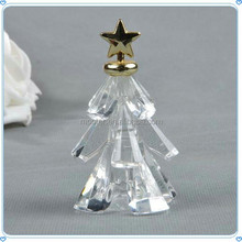 Fashion Mini Crystal Glass Christmas Tree For Decoration & Gifts