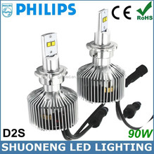 CE RoHS Approved Replacing HID Halogen All Sizes 4000K 45w 3600lm New Design Auto D2S led Bulb