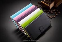 Leather Cover Cell Phone Stand Folio Wallet Flip Case for Motorola Moto Nexus 6 XT1100 XT1103