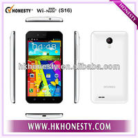 3G Bluetooth MTK6589 5 inch Android Quad Core Phone Mobile