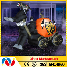 Newly 2015 Beautiful Halloween Inflatable Pumpkin Car inflatable party decoration