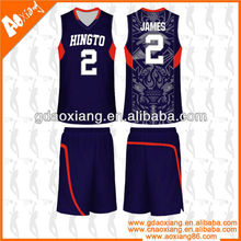 Hot selling Cool-max Basketball practice jersey/short