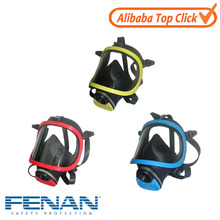 Reusable similar to 3M respirators mask for preventing chemical toxic gas, chemical respirator for paint spray
