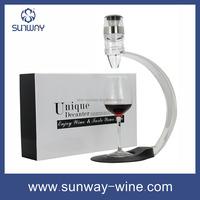 color box fancy set bottle glass wine decanters