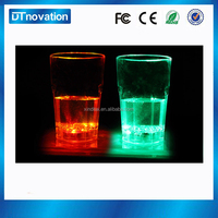 Glass beads led light head magnifying glass glow in the dark cup