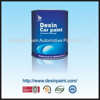 Acrylic washable clear coat paint
