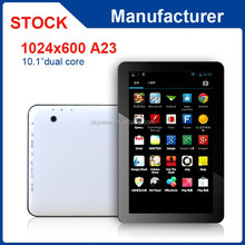 10 inch A23 dual core 1GB RAM 8GB ROM android 4.4 tablet