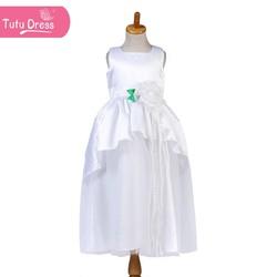 New Fashion Elegant Wedding Party Flower Girl Dresses Princess Kid Dresses Gowns