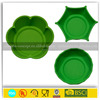 Eco-friendly food grade red color silicone foldable pet dog bowl