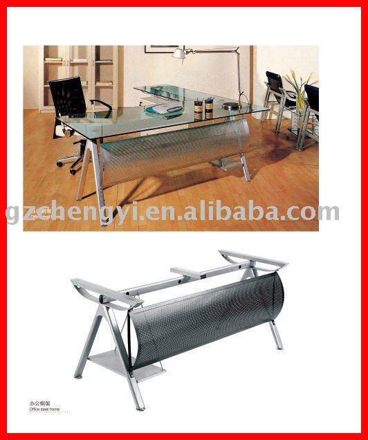 Ejecutivo escritorio de oficina vidrio