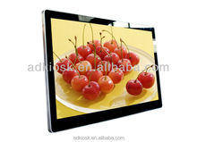 Hot seller ! led panel light 1080p full hd touch screen wall mount video player