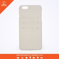 2015 new arrival cell phone case genuine leather cover for Iphone 6