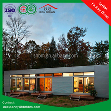 20ft 40ft eps sandwich panel light steel low cost house container price ready made prefabricated villa prefab container house