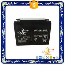 vrla battery 12v24ah deep cycle / solar battery