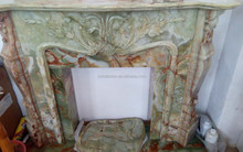 China supply French design fireplace mantel,marble fireplace ,outdoor fireplace