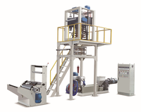 Sanyuan brand extruders bags film blowing machine stretch film extrusion line