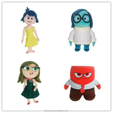 2015 new products cartoon animal plush toy Inside Out for children