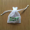 Custom logo gift bags organza gift pouches from china factory