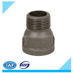 Malleable Iron pipe fitting BS Black Threaded Extension Piece 529A