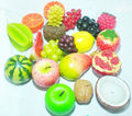 Fruit Scented Candle Set for Party, Event
