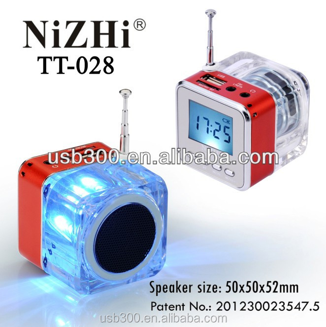 2015 profesional altavoz mini manual nizhi tt028