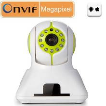 Robot wireless IP camera 720P H.264 two-way audio wireless easy to install p2p IP camera HD IR cut wireless web security camera