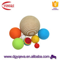 eco-friendly safety eva foam toy balls for baby playing