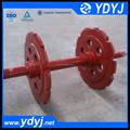 la unidad de la rueda y el eje de la asamblea para el transportador
